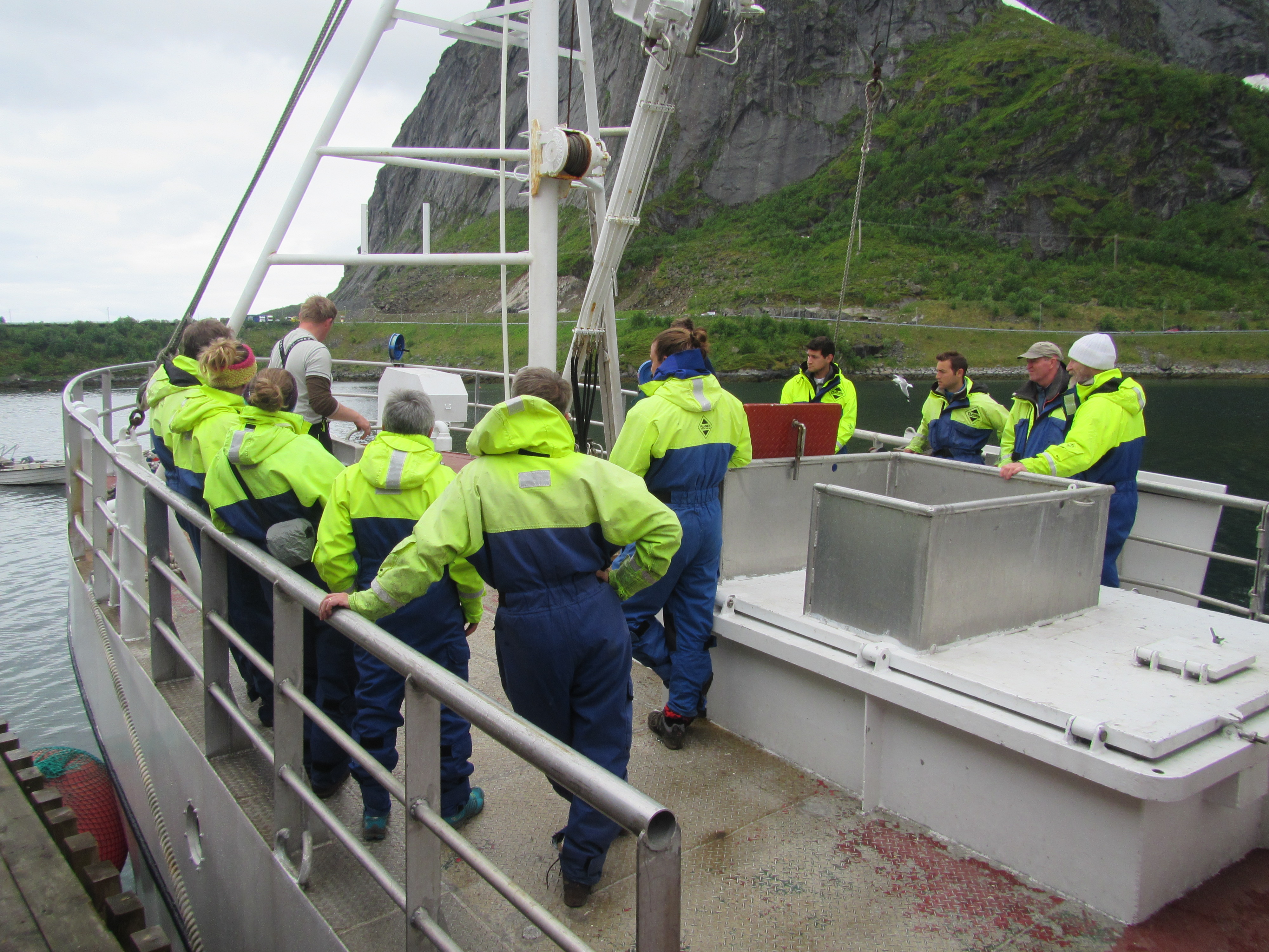 Reinefjorden, Lofoten – out on the open sea