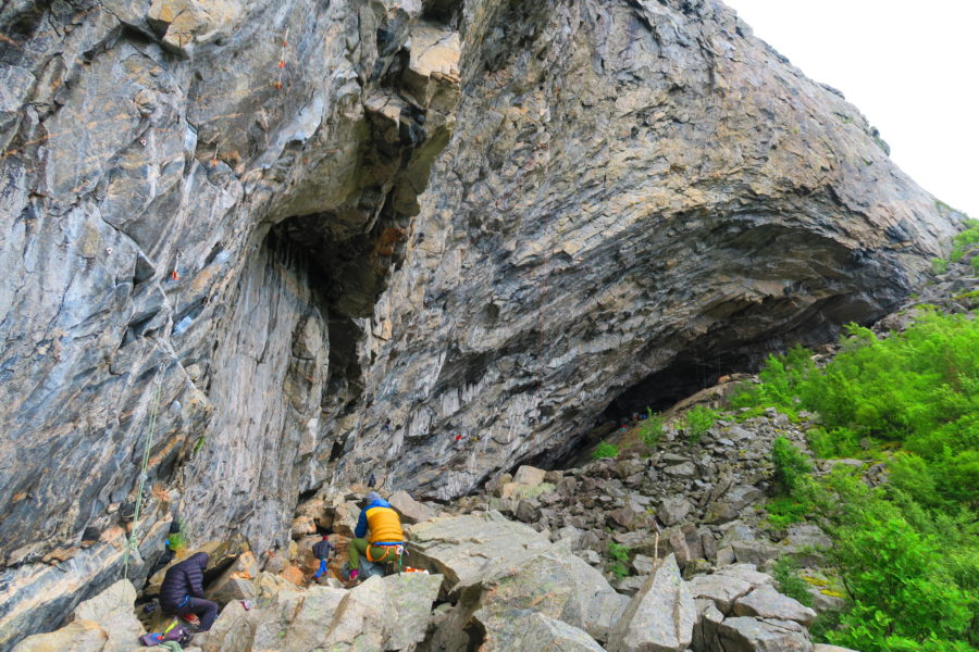 Flatanger – the world's hardest climbing route