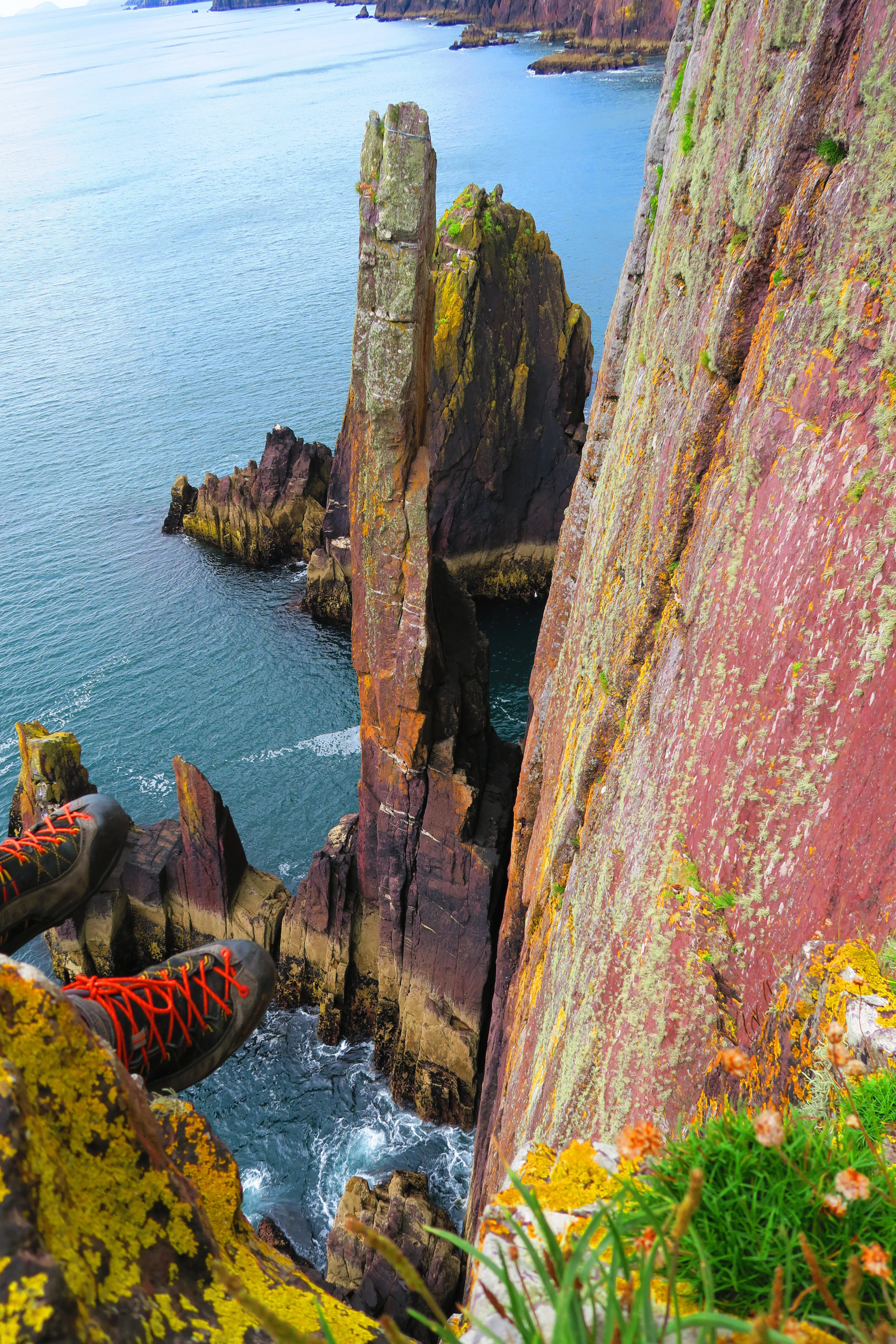 Dun Seanna Head – Sea stacks, surf&turf