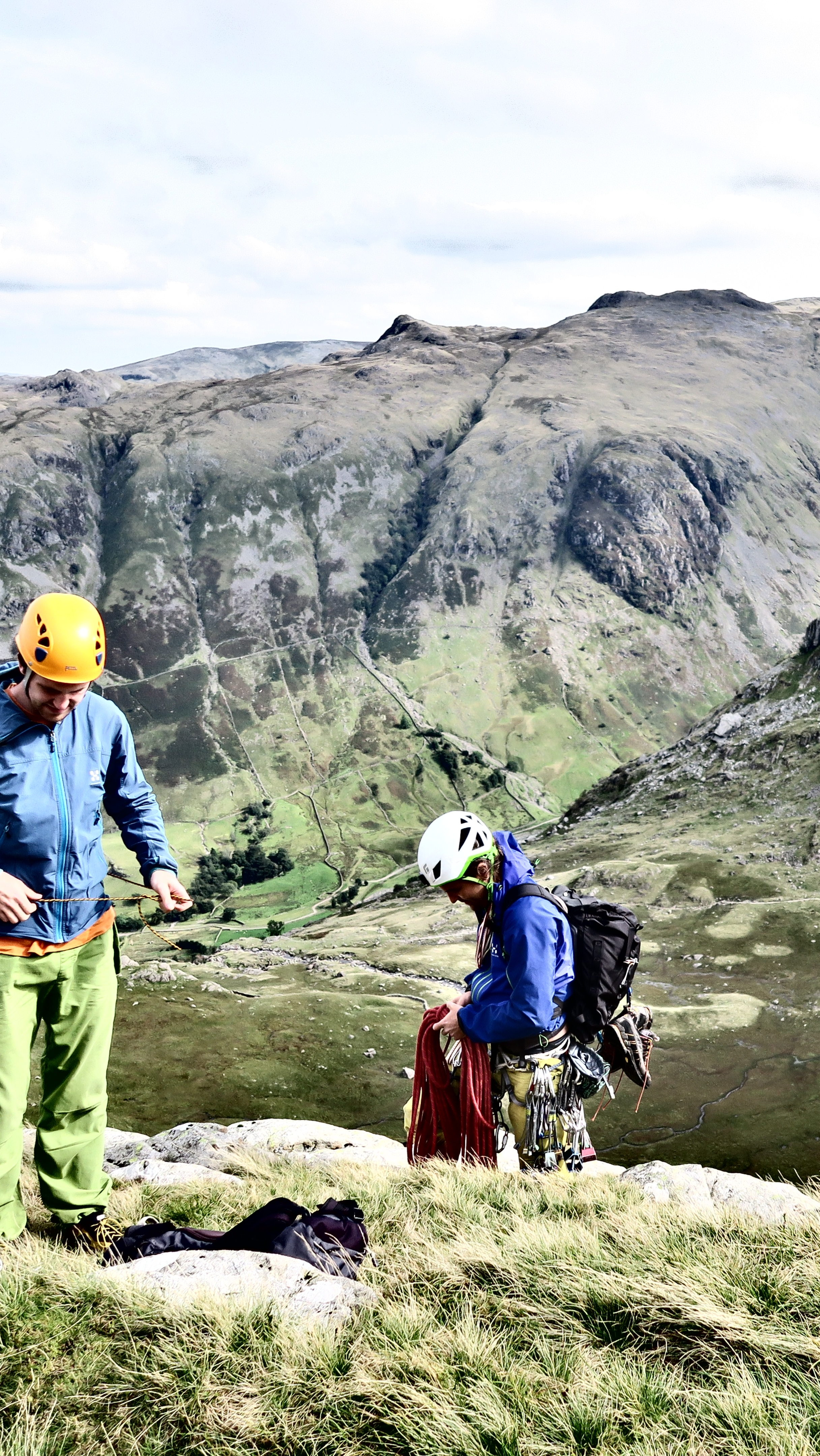 Lake District – goldfish in caves & epic multi-pitches