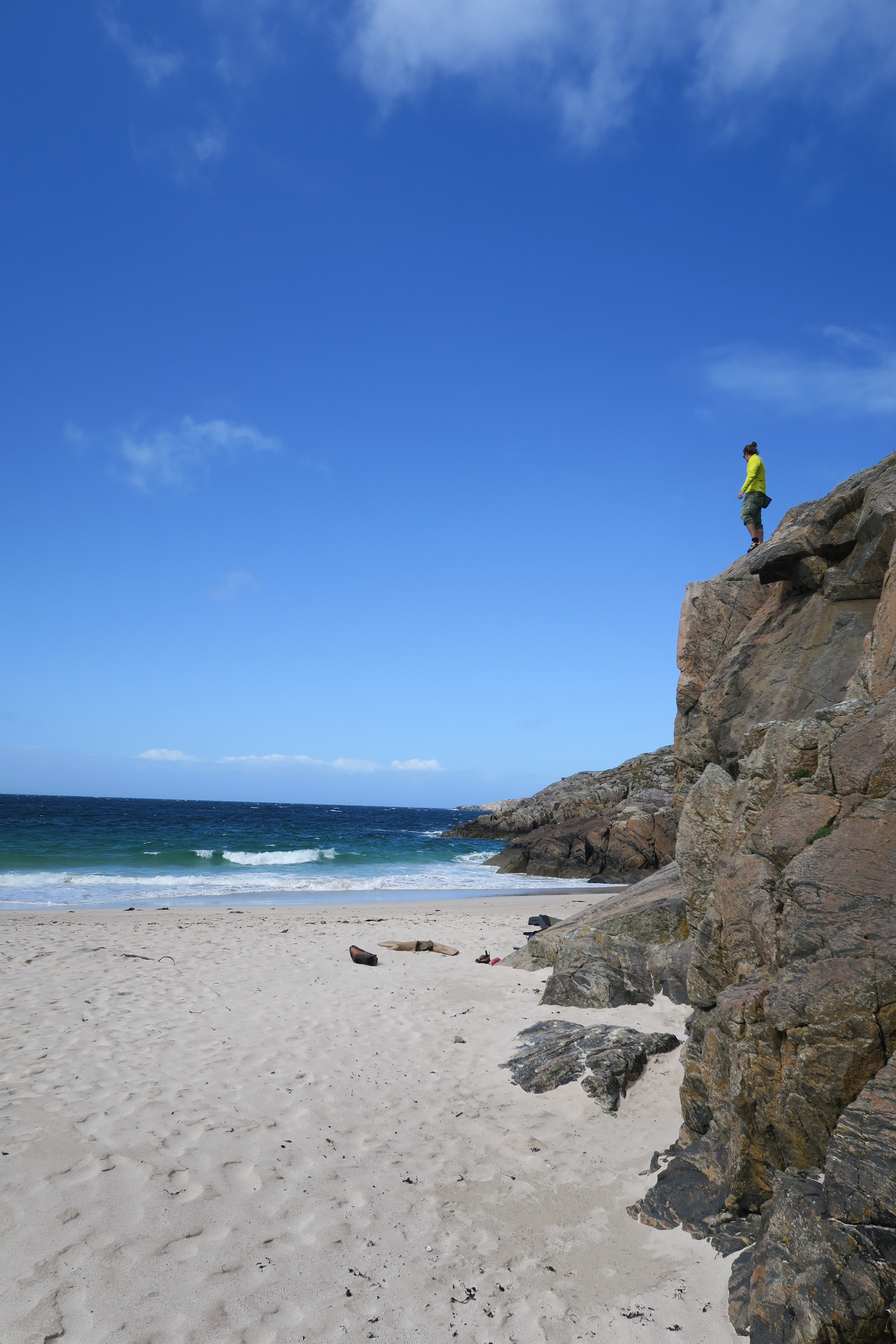 Achmelvich – the perfect bouldering beach