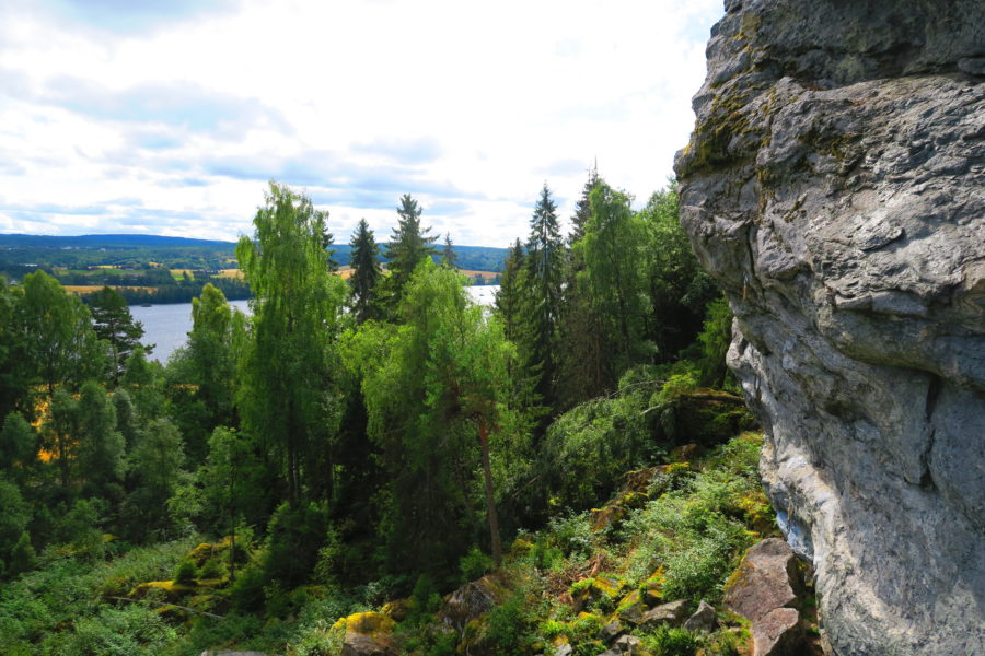 Hammer'n – climbing above Norway's longest river